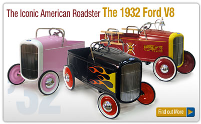 Ford Pedal Cars - Home